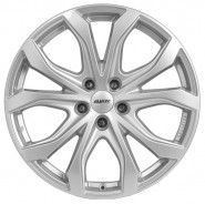 Фото диска Alutec W10X 8.5x19 5/127 ET55 DIA 71.6 Racing Black Front Polished