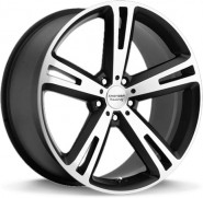 Фото диска American Racing AR885 8x18 5/120 ET40 DIA 74.1 Black/Machined