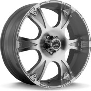 Фото диска American Racing AR889 8.5x20 5/127 ET35 DIA 78.1 Silver Machined