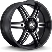 Фото диска American Racing AR890 9.5x22 6/135 ET35 DIA 87 Black/Machined