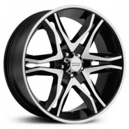 Фото диска American Racing AR893 8.5x20 6/139.7 ET15 G-BLK/MCH