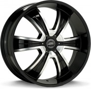 Фото диска American Racing AR894 8x18 5/115 ET15 DIA 74.1 Black/Machined