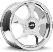 Фото диска American Racing AR895 7.5x17 5/100 ET45 DIA 72.6 White/PVD