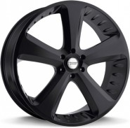 Фото диска American Racing VN870 9.5x24 5/150 ET30 DIA 110.1 Black