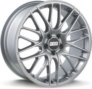 Фото диска BBS CS 7.5x17 5/100 ET35 DIA 70 Satin Black Diamond Cut