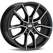 Фото диска BBS XA 8.5x20 5/120 ET33 DIA 82 BLACK DIAMOND CUT