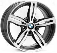 Фото диска BMW W652 Agropoli 8x17 5/120 ET15 DIA 74.1 anthracite polished
