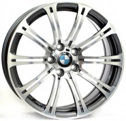 Фото диска BMW W670 M3 Luxor 8x17 5/120 ET34 DIA 72.6
