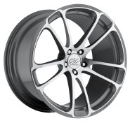 Фото диска CEC CE882 10x20 5/112 ET33 DIA 66.6 Anthracite/Machined
