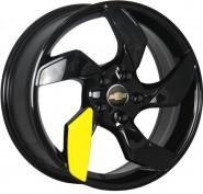 Фото диска CHEVROLET Concept GM527 7x17 5/115 ET45 DIA 70.3 BK+plastic (BK+Y)