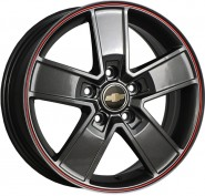 Фото диска CHEVROLET Concept GM529 6.5x16 5/115 ET41 DIA 70.1 GMRS