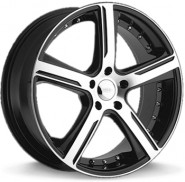 Фото диска DIAMO 37 8x18 5/114.3 ET42 DIA 66 Black/Machined