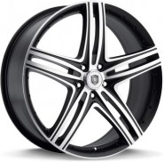 Фото диска Dropstars DS08 8.5x20 5/112 ET38 DIA 72.6 Black/Machined