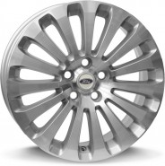 Фото диска FORD W953 ISIDORO 7x17 5/108 ET50 DIA 63.4 sil.pol