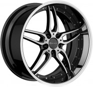 Фото диска Giovanna Califive 10x20 5/120 ET35 DIA 74.1 Machined Black