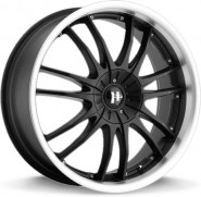 Фото диска HELO HE845 8x18 6/120 ET42 DIA 72.69 Black/Machined