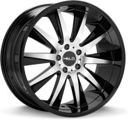 Фото диска HELO HE851 10x22 5/120 ET40 DIA 74.1 Black/Machined