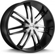 Фото диска HELO HE868 9.5x22 5/130 ET38 DIA 72.6 Black/Machined