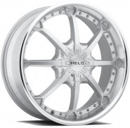 Фото диска HELO HE871 9x22 6/139.7 ET38 DIA 100.5 Silver/Machined