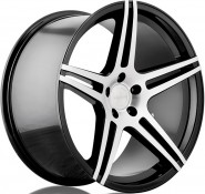 Фото диска Incurve Wheels IC-S5 9x20 5/130 ET50 DIA 71.6 Machined Black
