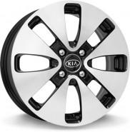 Фото диска KIA KI52 6x15 4/100 ET48 DIA 54.1 BKF