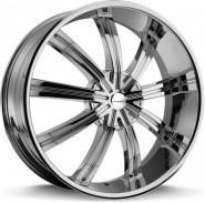 Фото диска KMC KM672 8.5x20 6/135 ET38 DIA 106.25 Black/Machined