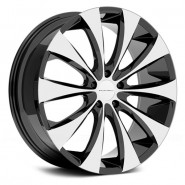 Фото диска KMC KM679 8.5x20 5/115 ET15 DIA 72.6 Black/Machined
