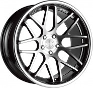 Фото диска Vertini Magic 8.5x20 5/120 ET20 DIA 74.1 Machined Black