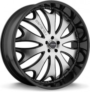 Фото диска Lorenzo 29 8.5x22 5/120 ET38 DIA 74.1 Black/Machined
