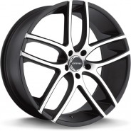 Фото диска Lorenzo 35 8.5x20 5/114.3 ET38 DIA 72.6 Black/Machined