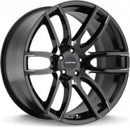 Фото диска Lorenzo 36 8.5x20 5/120 ET15 DIA 74.1 Black/Machined