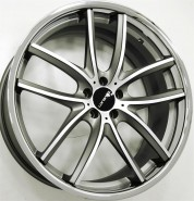 Фото диска Lorenzo WL199 8.5x20 5/114.3 ET35 DIA 66.1 Gray/Machined