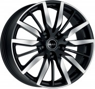 Фото диска MAK Barbury 8x19 5/108 ET45 DIA 63.4 Ice Black