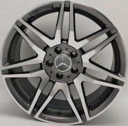 Фото диска MERCEDES D863 10x21 5/112 ET46 DIA 66.6 Gloss Black