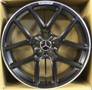 Фото диска MERCEDES D895 10x21 5/112 ET46 DIA 66.6 Gloss Black