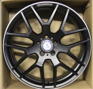 Фото диска MERCEDES D899 10x21 5/112 ET46 DIA 66.6 black matt