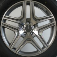 Фото диска MERCEDES D975 10x21 5/112 ET46 DIA 66.6 black matt