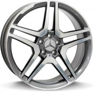 Фото диска MERCEDES W759 AMG Vesuvio 8x18 5/112 ET30 DIA 66.6 anthracite polished