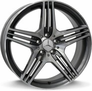 Фото диска MERCEDES W768 Stromboli 8x17 5/112 ET35 DIA 66.6 anthracite polished