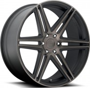 Фото диска MHT Dub Skillz 9.5x22 6/139.7 ET30 DIA 78.1 Black/Machined