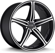 Фото диска MHT Foose Speed 8.5x19 5/114.3 ET35 DIA 72.6 Black/Machined