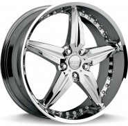 Фото диска MHT Speedster 8.5x20 5/115 ET45 DIA 70.6 chrome