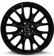 Фото диска MINI W1653 RIVERS 7x17 4/100 ET48 DIA 56.1 GlOSSY BLACK