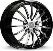 Фото диска MK Forged Wheels MK-XL (40) Status 9.5x22 5/130 ET40 DIA 71.6 polished+black lip