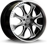 Фото диска MK Forged Wheels MK-XLIV Status 9.5x22 5/130 ET40 DIA 71.6 polished+inox lip