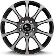 Фото диска MK Forged Wheels MK-XVI Status 9.5x20 6/139.7 ET25 DIA 110.1 black+inox lip