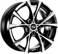 Фото диска MSW CROSS OVER 7.5x17 5/115 ET40 DIA 70.2 black full polished