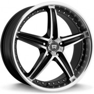 Фото диска Motegi Racing MR107 8.5x20 5/108 ET42 DIA 72.6 Black/Machined