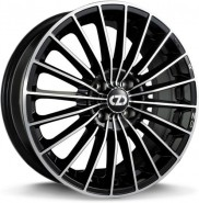 Фото диска OZ Racing 35 ANNIVERSARY 8x19 5/112 ET35 DIA 75 BLACK DIAMOND CUT