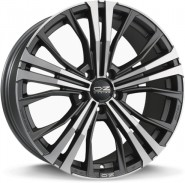 Фото диска OZ Racing CORTINA 9.5x20 5/112 ET33 DIA 66.6 MATT DARK GRAPHITE DIAMOND CUT